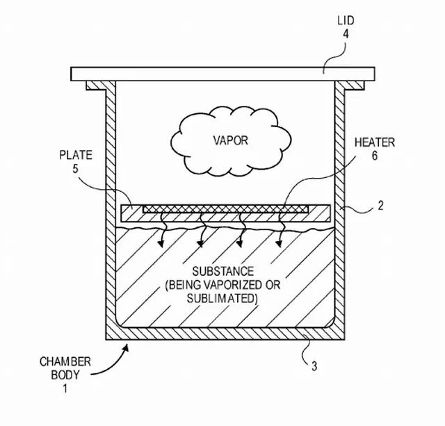 Apple Patented Vapourizer Technology